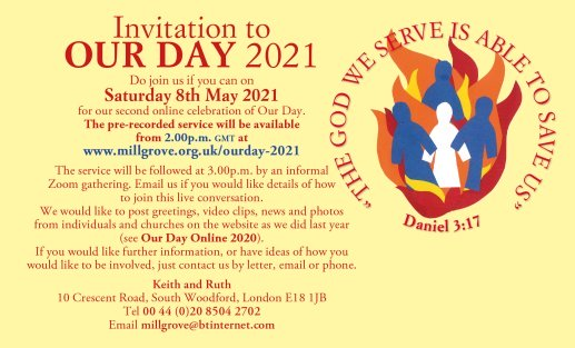 Our Day Invitation Image